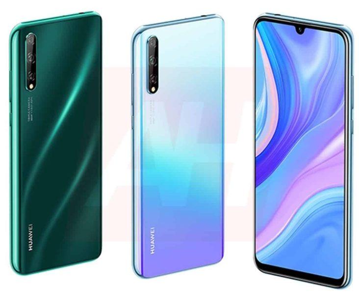 Huawei P Smart 2020 и Nova 6 показали на новых рендерах Huawei  - huawei1