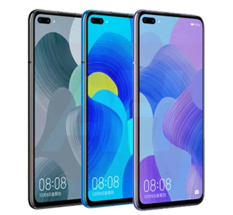 Huawei P Smart 2020 и Nova 6 показали на новых рендерах Huawei  - huawei2