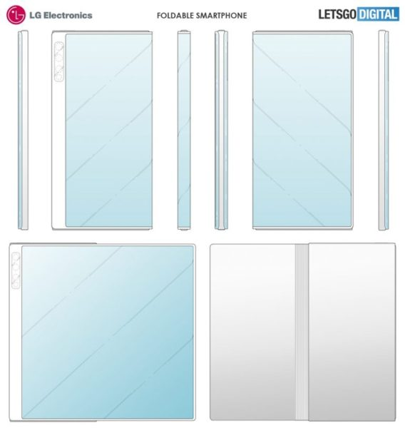 LG проектирует девайс в стиле Huawei Mate X LG  - lg2
