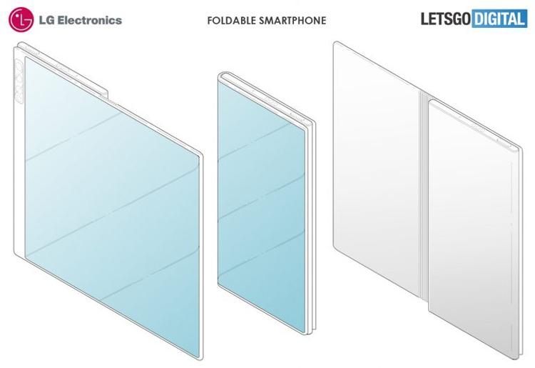 LG проектирует девайс в стиле Huawei Mate X LG  - lg3