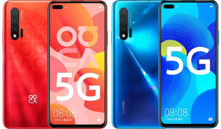 Huawei Nova 6 5G: характеристики и рендеры Huawei  - nova4