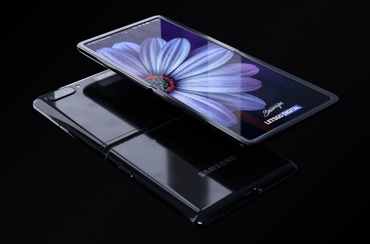 Samsung Galaxy Z Flip с гибким экраном. Рендеры Samsung  - flip6