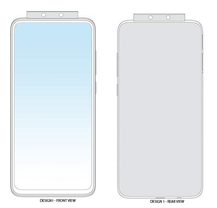 Xiaomi: дизайн гаджета с 7-ю выдвижными камерами Xiaomi  - xiaomi2-1