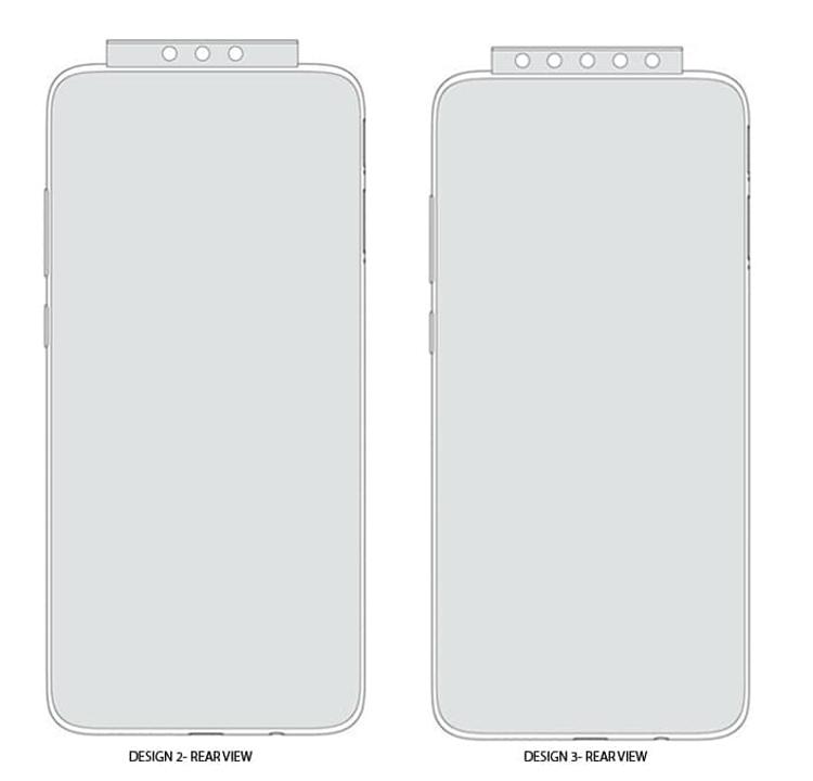 Xiaomi: дизайн гаджета с 7-ю выдвижными камерами Xiaomi  - xiaomi3