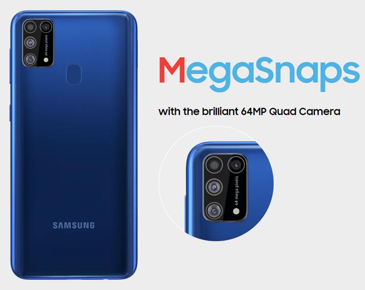Смартфон среднего класса Samsung Galaxy M31 выйдет 25 февраля Samsung  - galaxy2