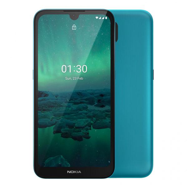 В России открылся предзаказ на доступные Nokia 1.3 и Nokia 5310 Другие устройства  - sm.nokia-1-3-cyan-01.750