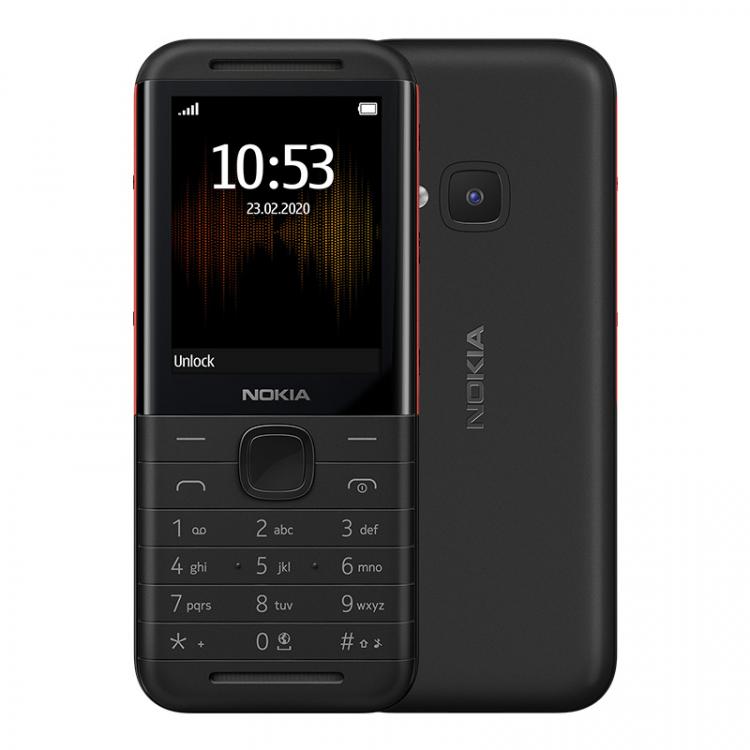 В России открылся предзаказ на доступные Nokia 1.3 и Nokia 5310 Другие устройства  - sm.nokia-5310-black-01.750