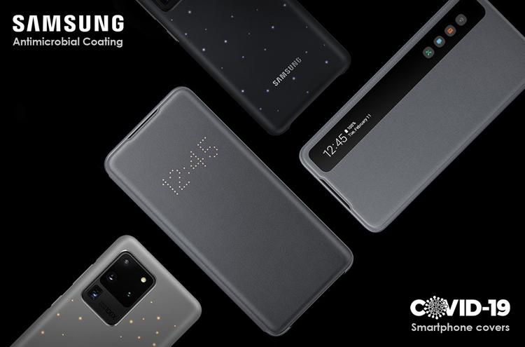 Samsung разрабатывает чехлы против COVID-19 для смартфонов Samsung  - 233223