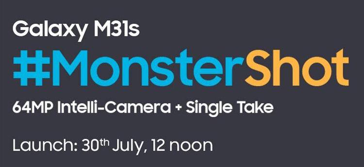 Samsung Galaxy M31s с мощной батареей покажут 30 июля Samsung  - Galaxy2-1
