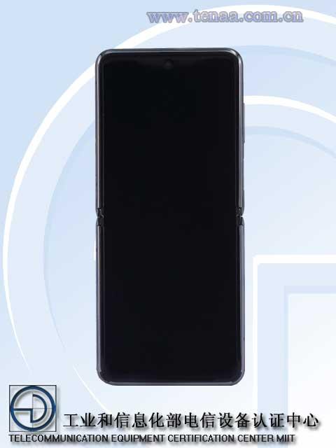 Раскрыт внешний вид смартфона-раскладушки Samsung Galaxy Z Flip 5G Samsung  - flip1