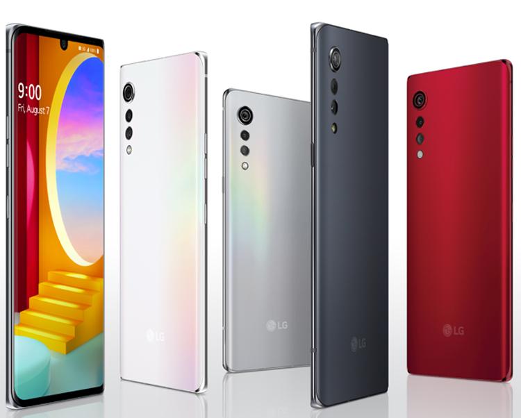 У LG Velvet появится 3-я версия — с 5G-процессором от MediaTek LG  - lgv2