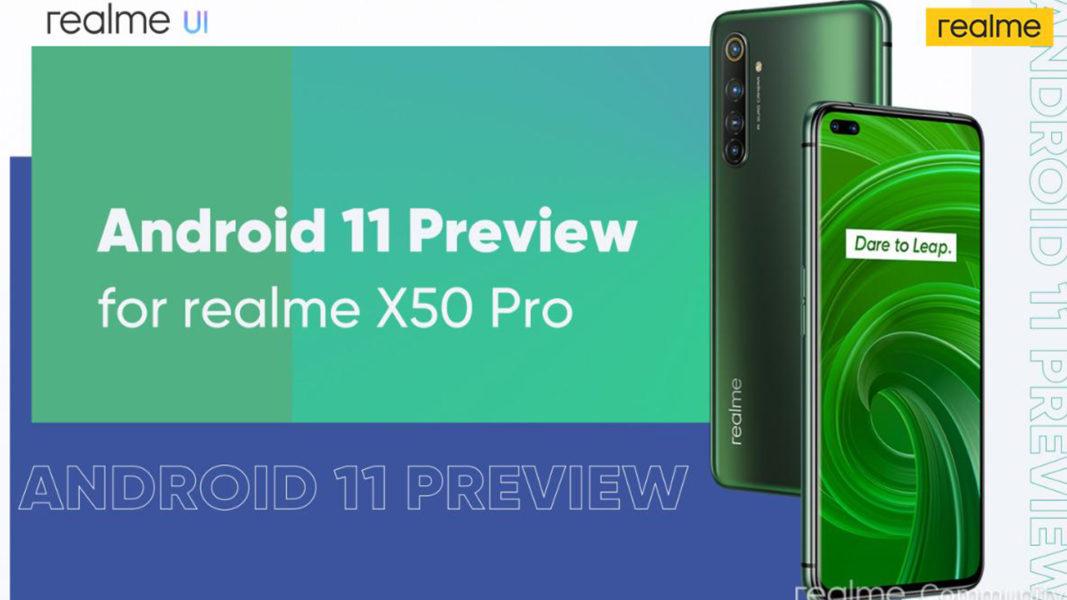 Realme X50 Pro первым получил Android 11 Другие устройства  - Bez-imeni-1-12