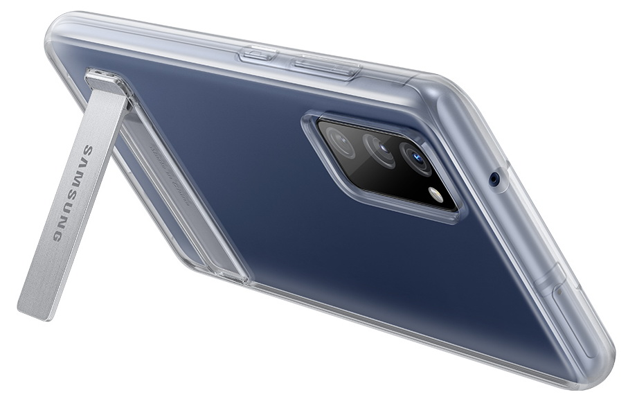 Фото официальных чехлов для Samsung Galaxy S20 FE Samsung  - samsung_galaxy_s20_fe_v_oficialnyh_chehlah_na_press_foto_8