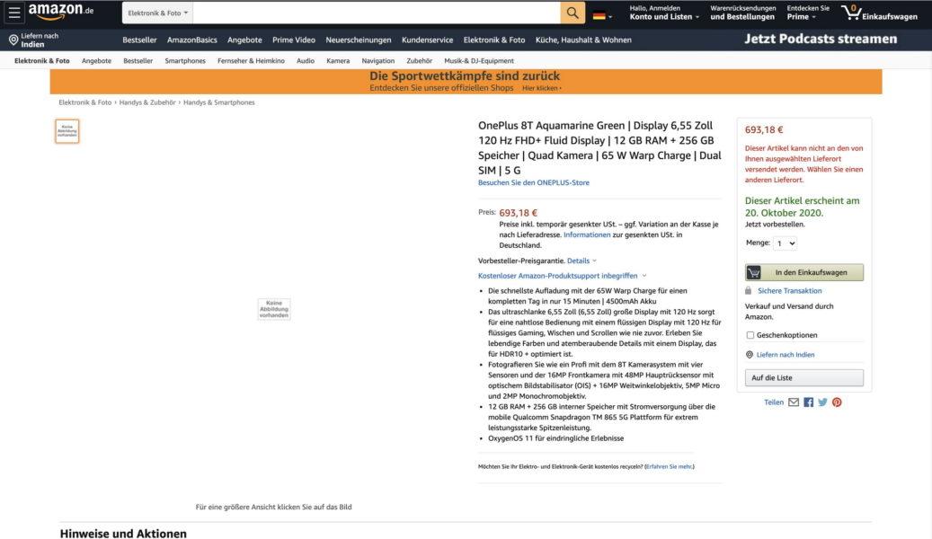 Amazon раскрыла стоимость и характеристики OnePlus 8T Другие устройства  - tak_luchshe_cena_i_harakteristiki_oneplus_8t_po_versii_amazon_picture2_0