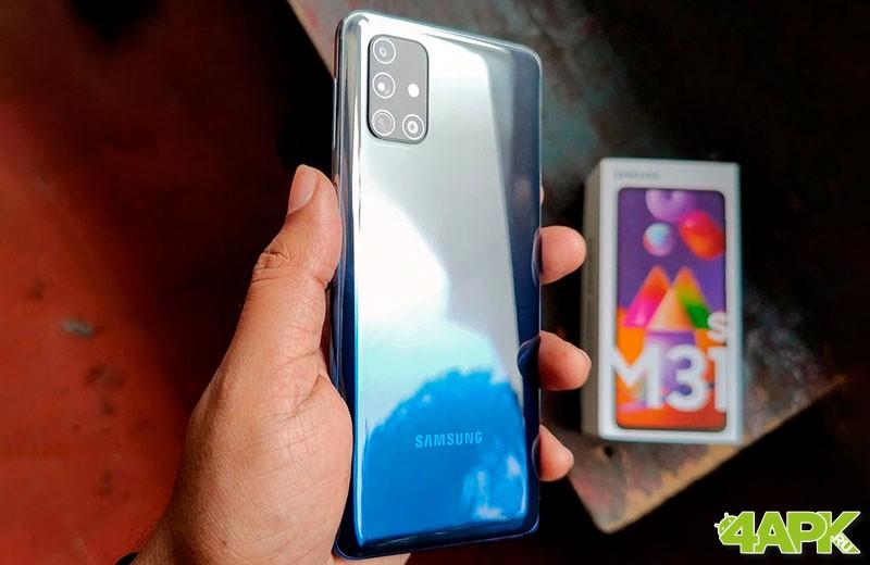 Обзор Samsung Galaxy M31s: конкурентный смартфон. Цена и качество Samsung  - samsung-galaxy-m31s-5