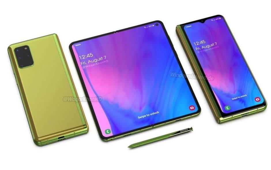 Следующее поколение Galaxy Z Fold 2 от Samsung станет еще лучше Samsung  - galaxyfold31