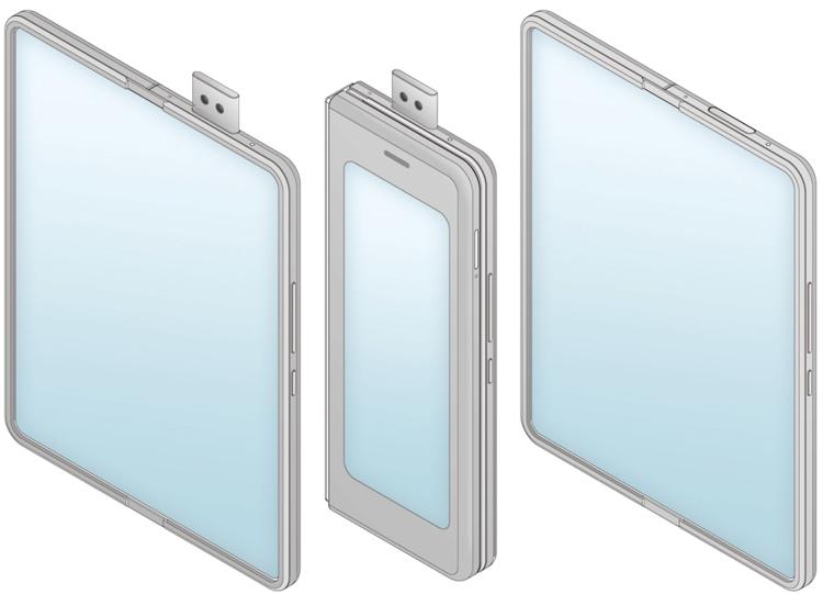 Xiaomi хочет снабдить гибкий смартфон-книжку двумя экранами Xiaomi  - xim2