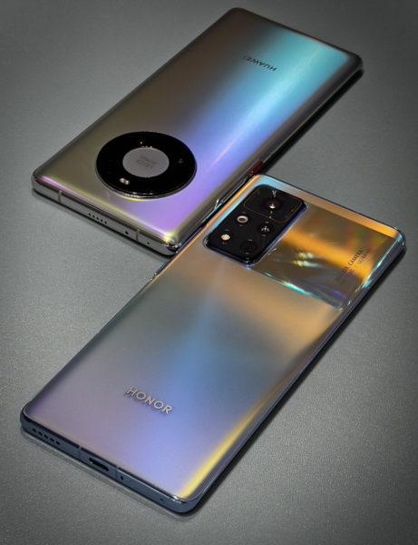 Honor V40 и Huawei Mate 40 Pro показался на видео Другие устройства  - ptenec_vyletel_iz_gnezda_honor_v40_radom_s_huawei_mate_40_pro_na_foto_2