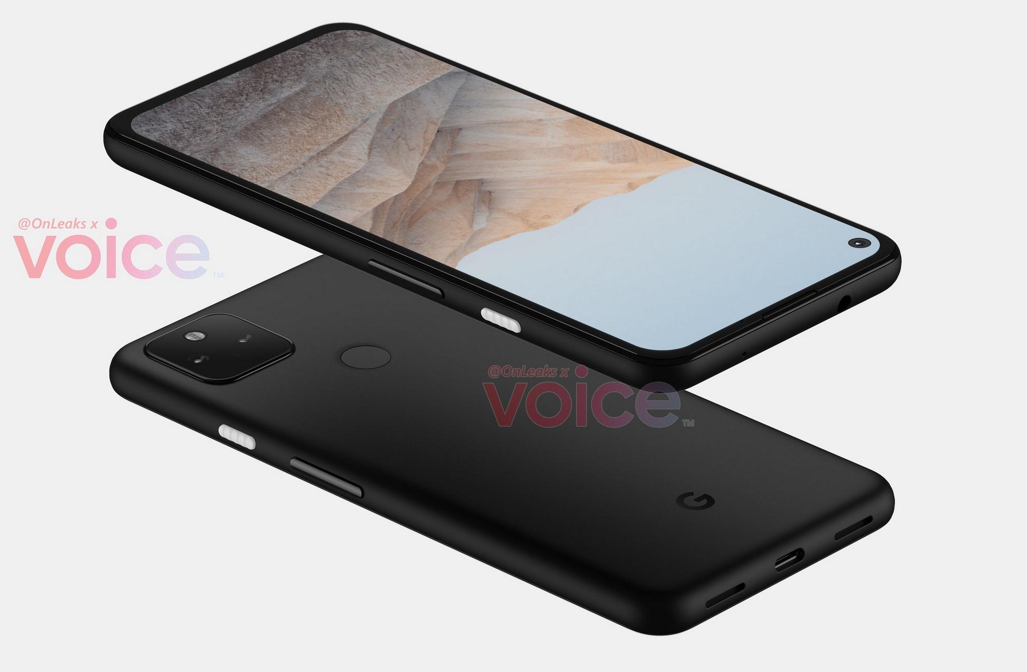 Google Pixel 5a: первые качественные рендеры Samsung  - dve_kamery_i_plastik_pervye_kachestvennye_rendery_google_pixel_5a_1
