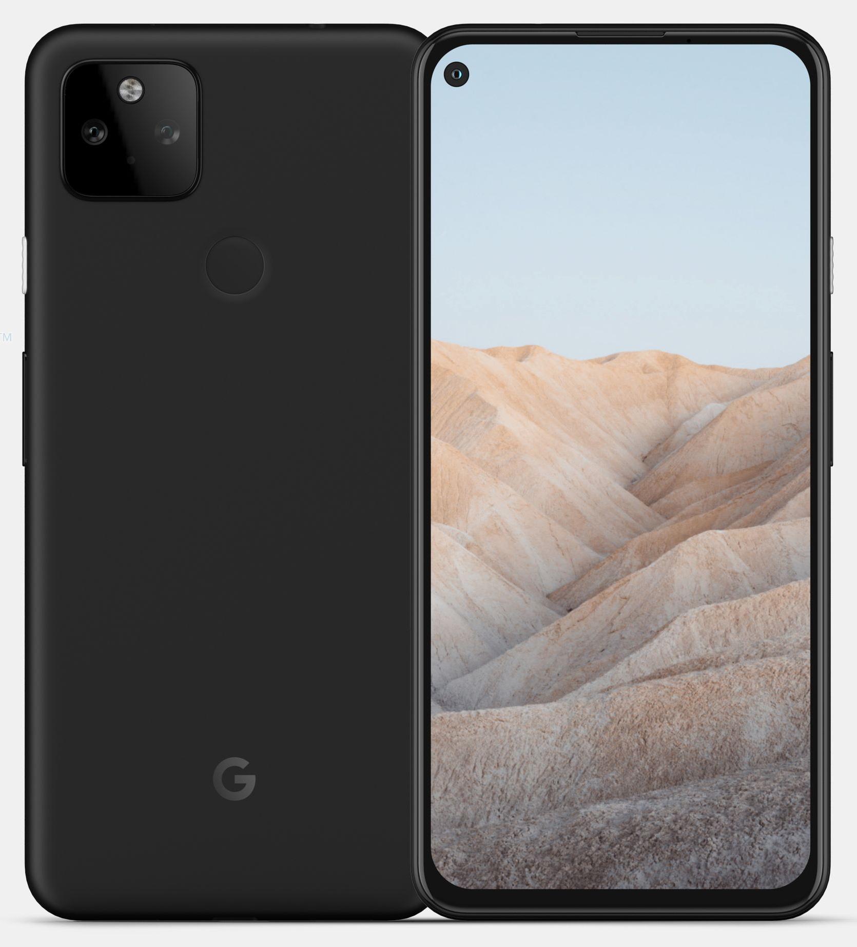 Google Pixel 5a: первые качественные рендеры Samsung  - dve_kamery_i_plastik_pervye_kachestvennye_rendery_google_pixel_5a_2