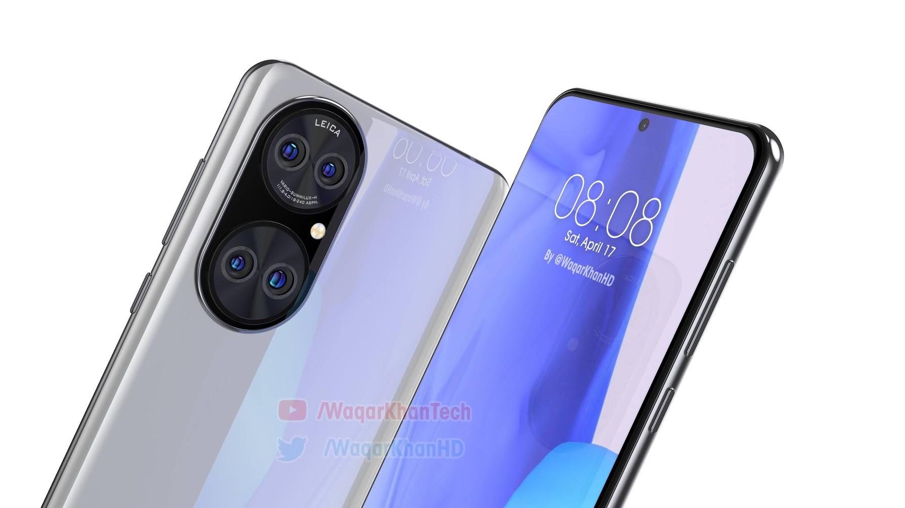Качественные макеты Huawei P50 Huawei  - huawei_p50_pokazalsa_na_realistichnyh_renederah_video_3