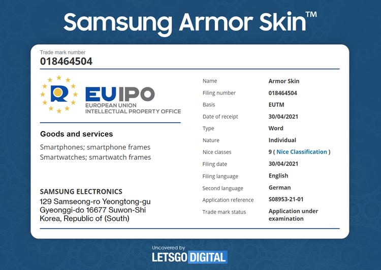 Samsung повысит прочность для смартфонов с гибким дисплеем Samsung  - armor2