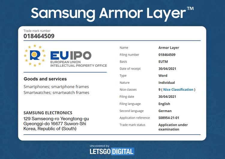 Samsung повысит прочность для смартфонов с гибким дисплеем Samsung  - armor3