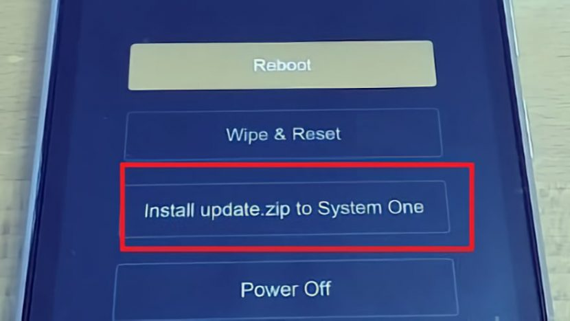 Как войти в рекавери на Xiaomi Приложения  - install-update-zip-830x467