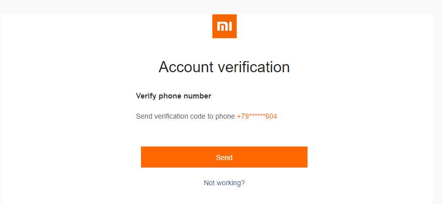 Как разблокировать Mi аккаунт Приложения  - unlock_2