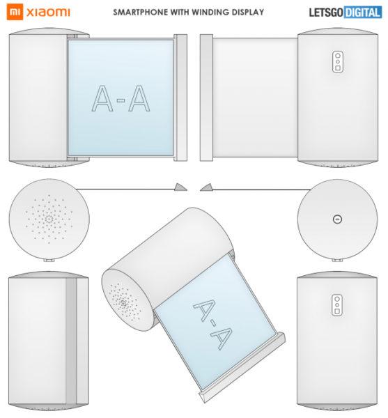 Xiaomi запатентовала странные гаджеты Xiaomi  - xiaomi-smart-speaker-smartphone