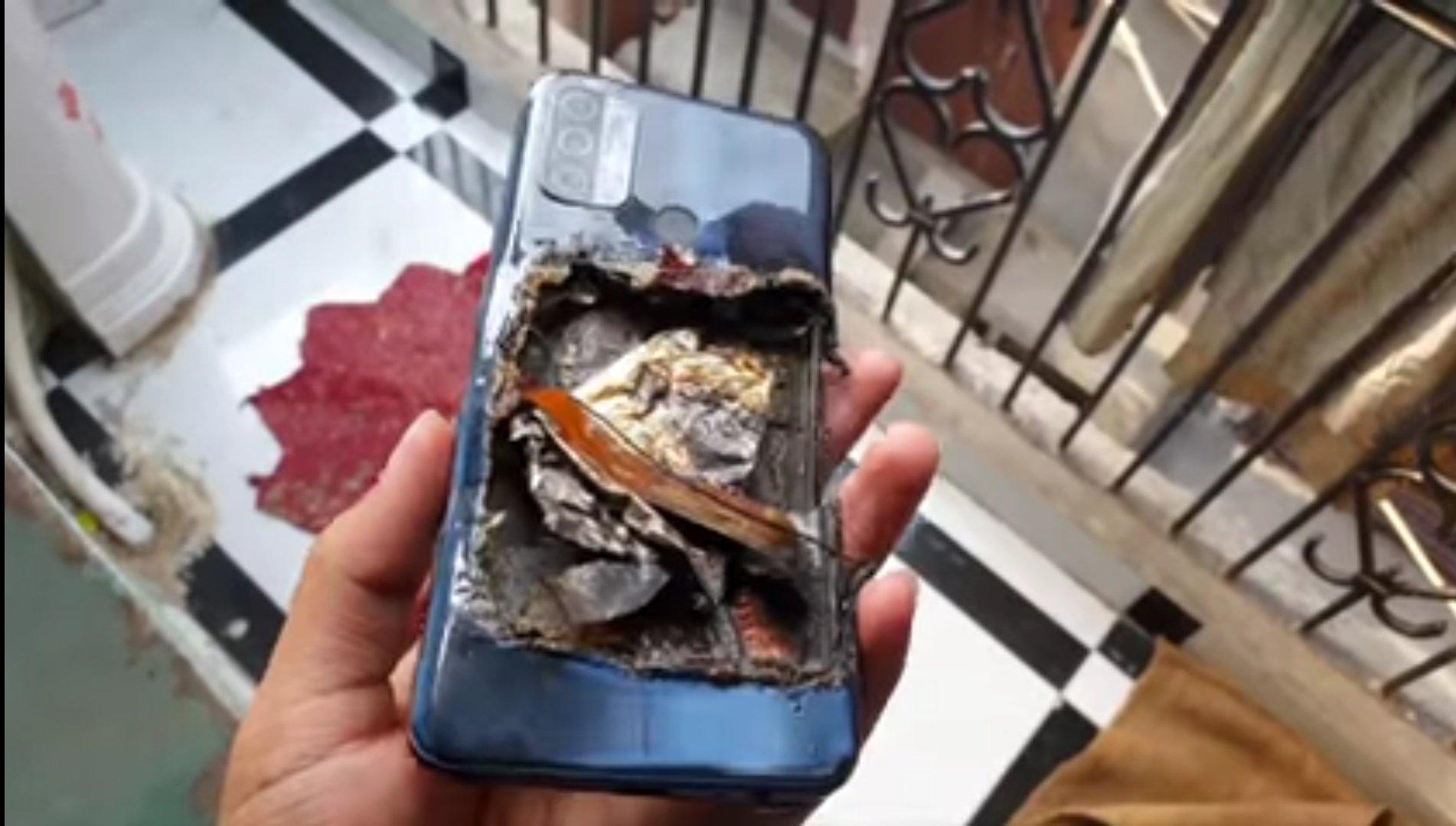 OPPO A53 взорвался у владельца в кармане Другие устройства  - smartfon_oppo_pokalechil_vladelca_vzorvavshis_v_karmane_4