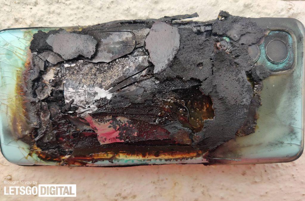OnePlus Nord 2 взорвался, навредив женщине Другие устройства  - gorachaa_novinka_oneplus_nord_2_vspyhnul_travmirovav_zhenschinu_1